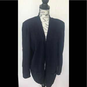 St John Large Basic Navy cardigan